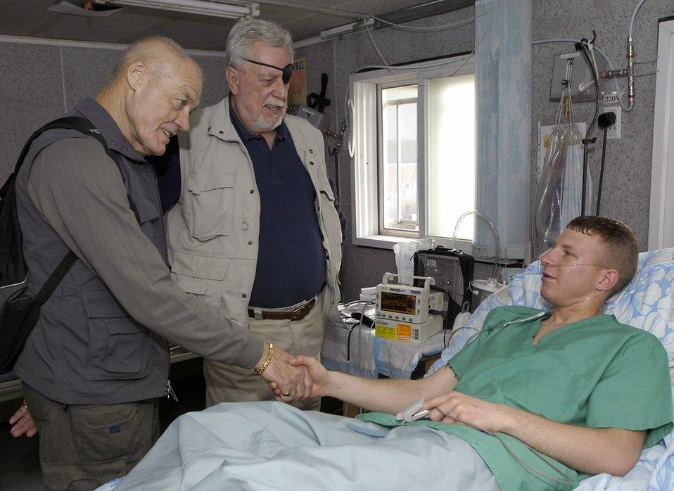 Medal of Honor recipients visit Manas Air Base
