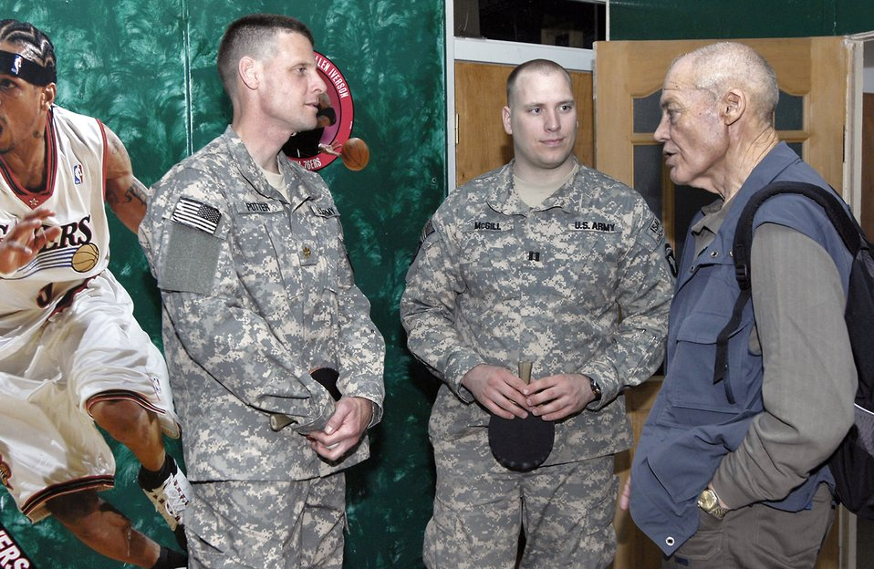 Medal of Honor recipients visit Manas Air Base