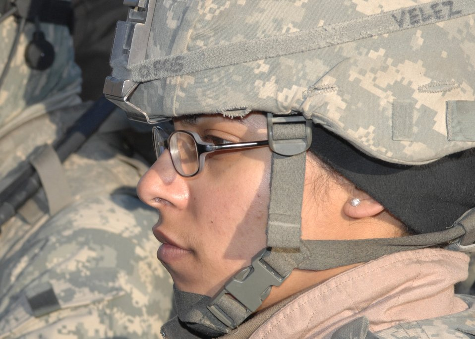 Female Airman from Bronx drives convoys in Afghanistan