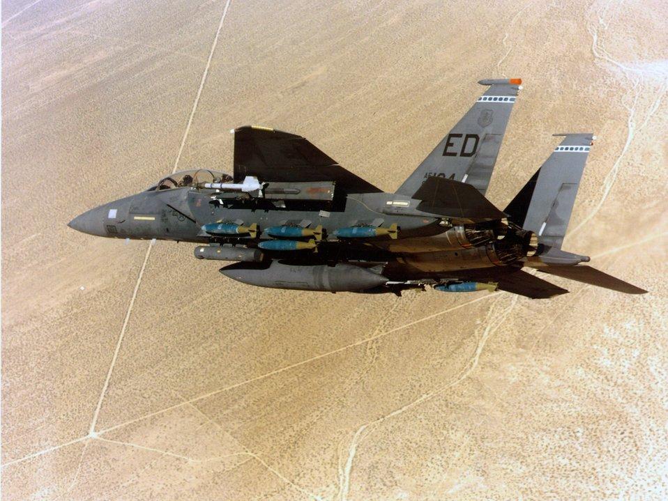 Feb. 11 airpower summary: F-15Es deter enemy activity