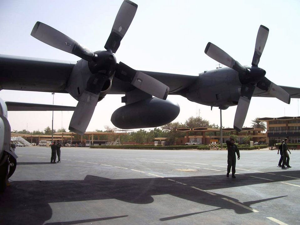 C-130 goes to Africa