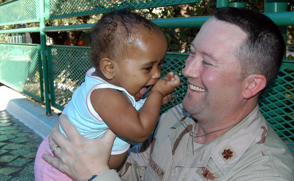 Airmen spend special time with orphans