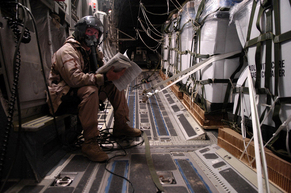 Airmen airdrop 80,000 pounds of food, supplies for Afghans