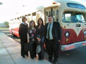 Hanford buses