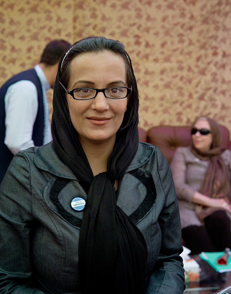 Victoria Parsa, VP Afghan Midwife Association