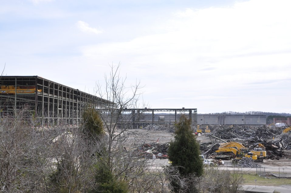 Oak Ridge demolition - K-33