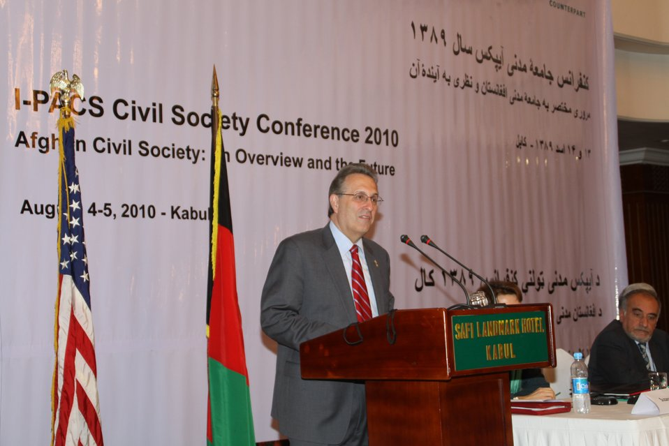 Civil Society Conference Held in Kabul