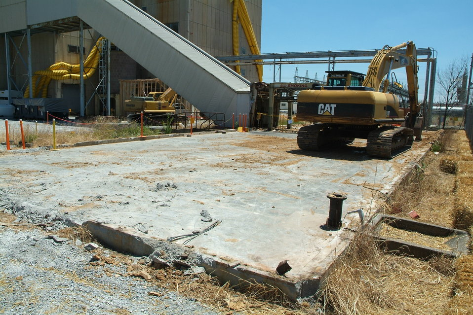 Magnesium storage after demolition