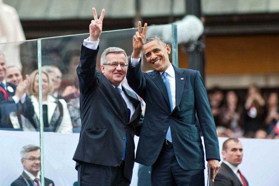 President Obama and Polish President Komorowski Participate in Celebration Marking 25th Anniversary of Freedom