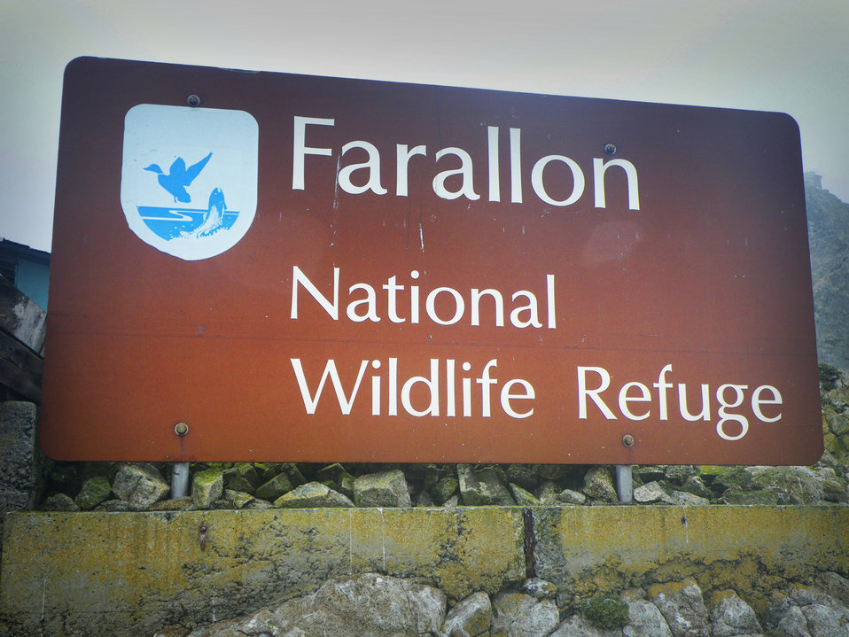 Farallon Island NWR Sign