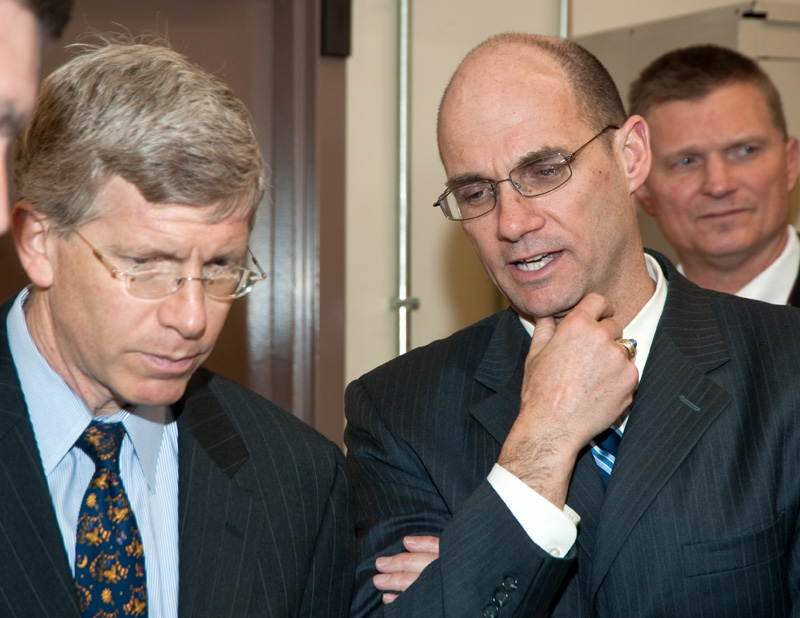 The Deputy Secretary and Administrator toured the Arming Fuzing & Firing (AF&F) and Stronglink Mechanisms areas at KCP.