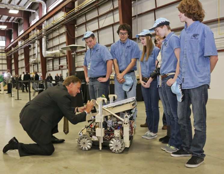 Photo of the Week: RoHAWKtics at Oak Ridge National Laboratory