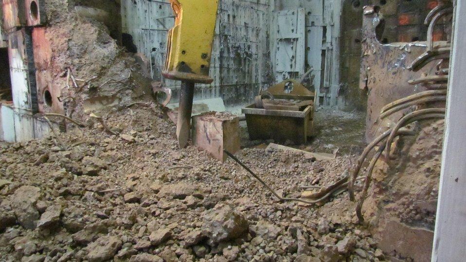 Brookhaven excavator