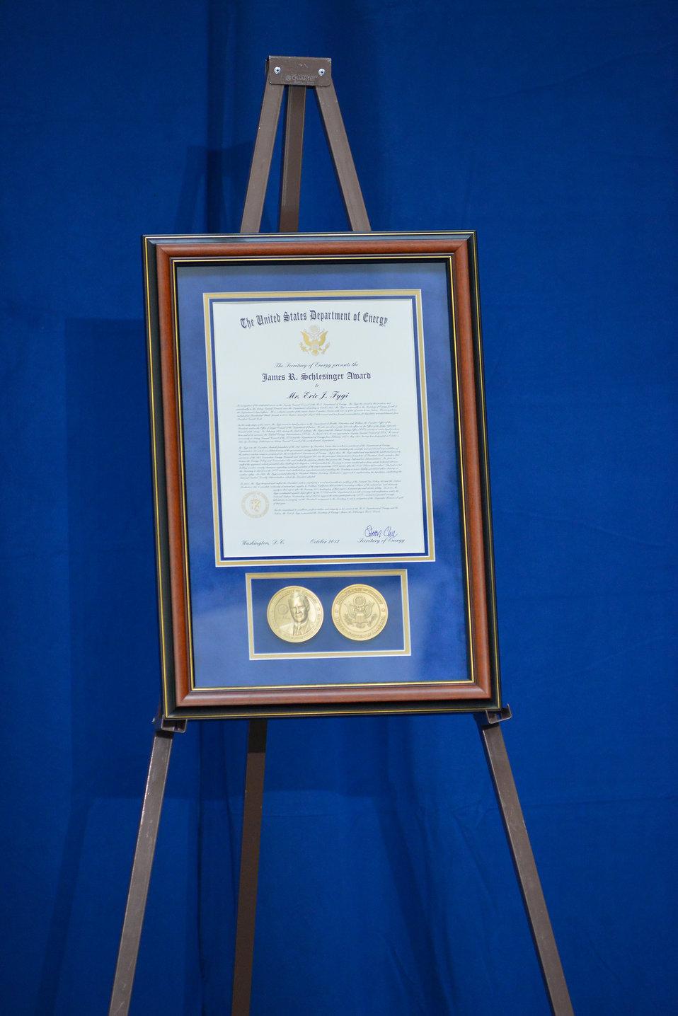 Schlesinger Award