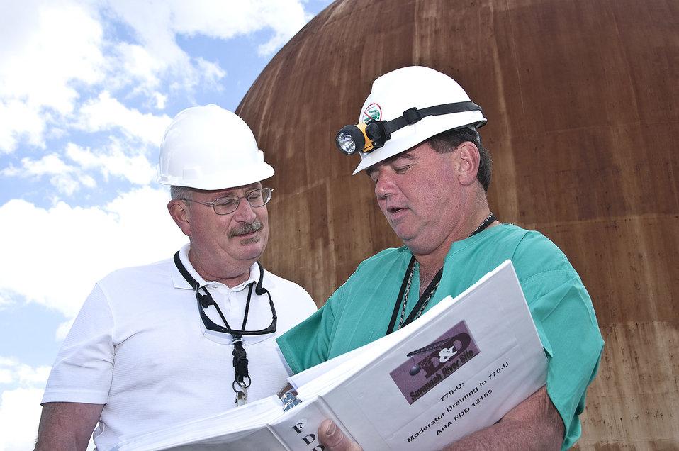 Work at Savannah River Site