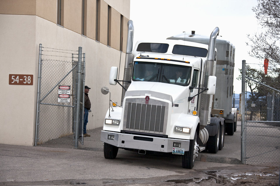 LANL's TRU Waste Program Exceeds Planned Shipping Goal
