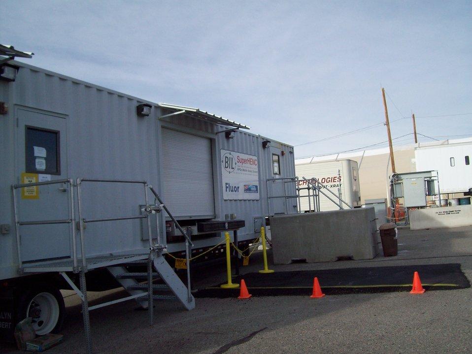 New equipment at LANL