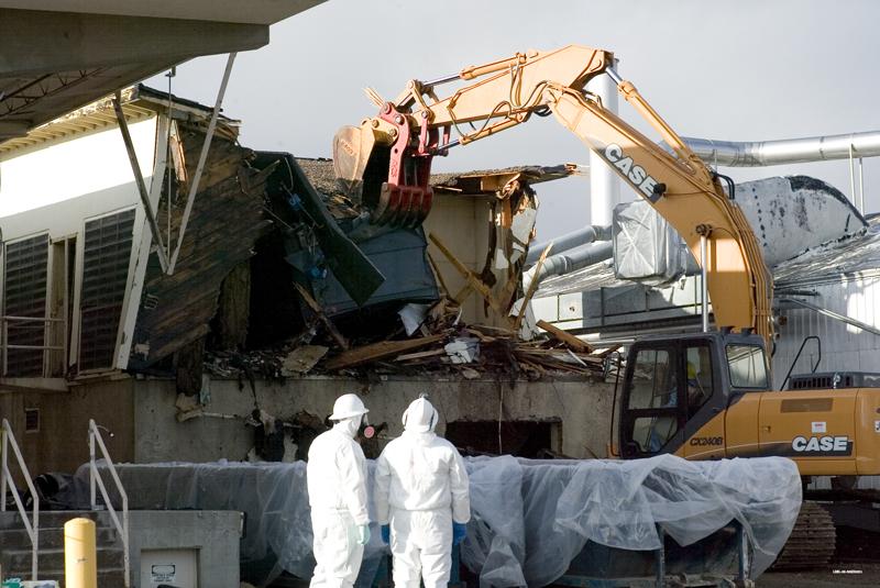 LANL - Building 21-167 demolition