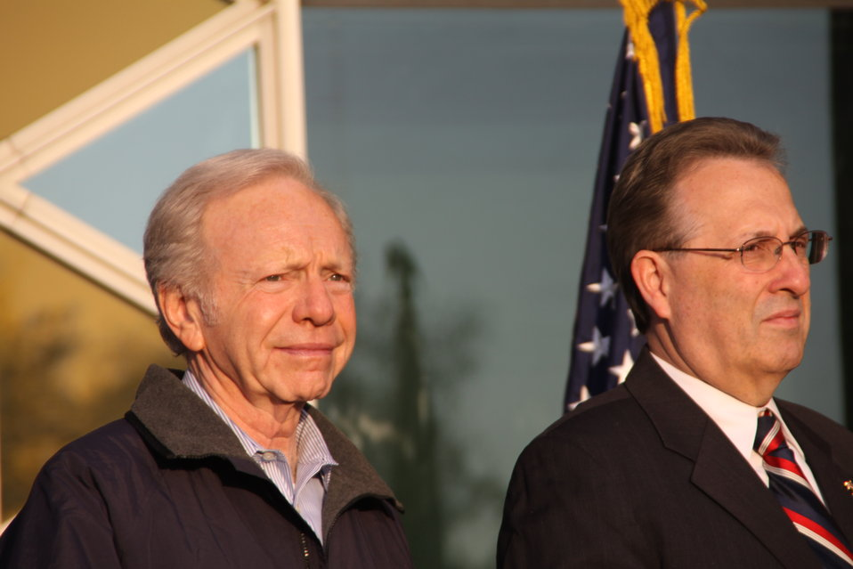 Senator Lieberman and Ambassador Wayne
