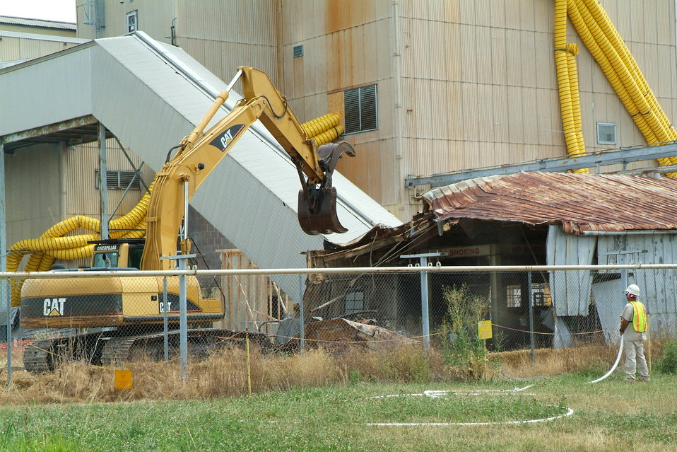 Magnesium storage during demolition