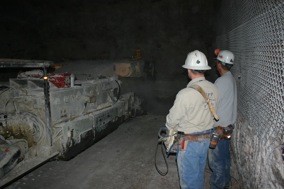 DOE Begins Mining Operations for Salt Disposal Investigations at WIPP