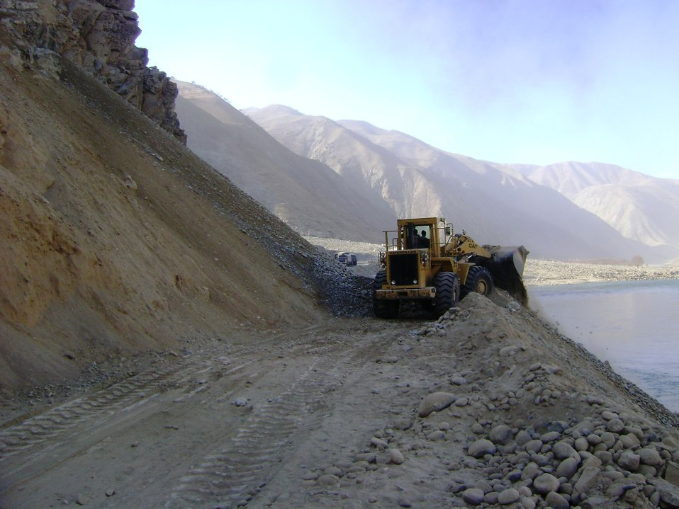 Roadway excavation Kishim To Fayzabad