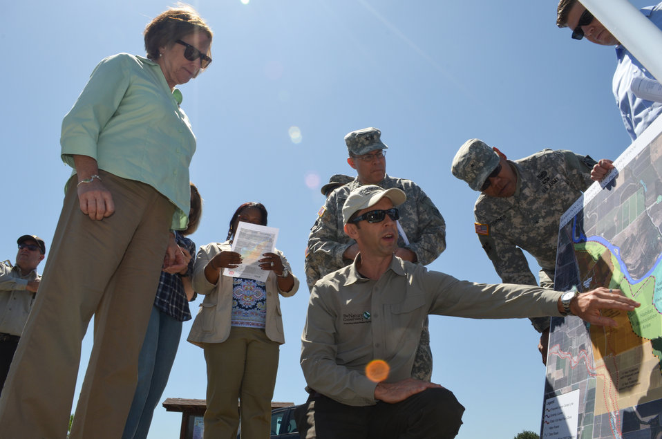 The Nature Conservancy briefs the Assistant Secretary of the Army for Civil Works