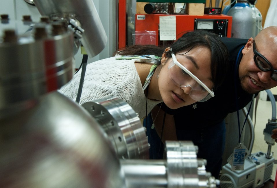 Solar Researchers in the Lab