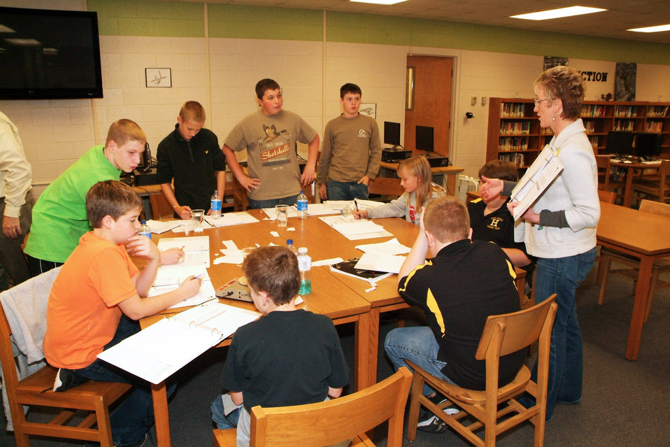 Heath Middle School Science Project Ongoing at Paducah Site