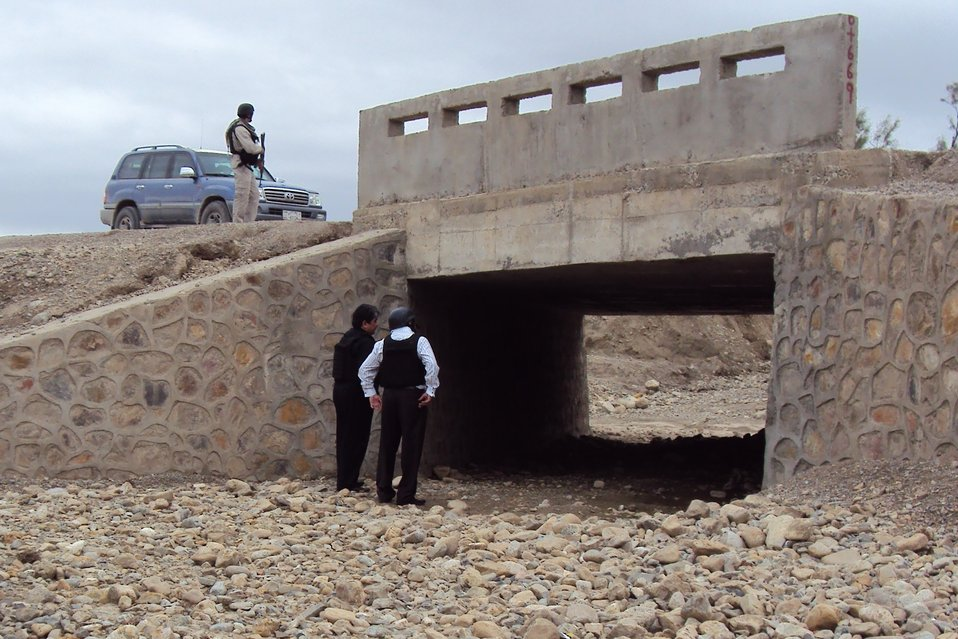 USAID and Minister of Public Works Inspect Completed Segment of a Strategic Provincial Roads in Eastern Afghanistan