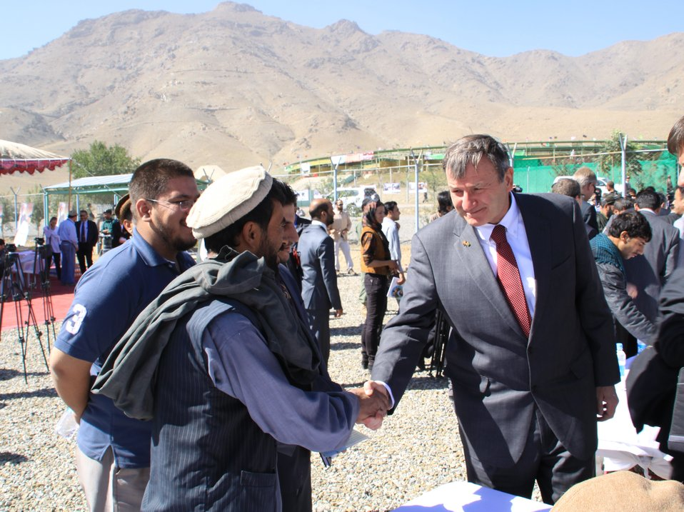 Afghan Farmers Break Ground, Sow Seeds in AVIPA's 2010 Wheat Seed Distribution Launch
