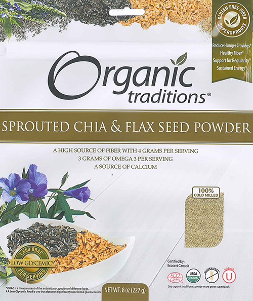 RECALLED – Chia and Flax seed powder
