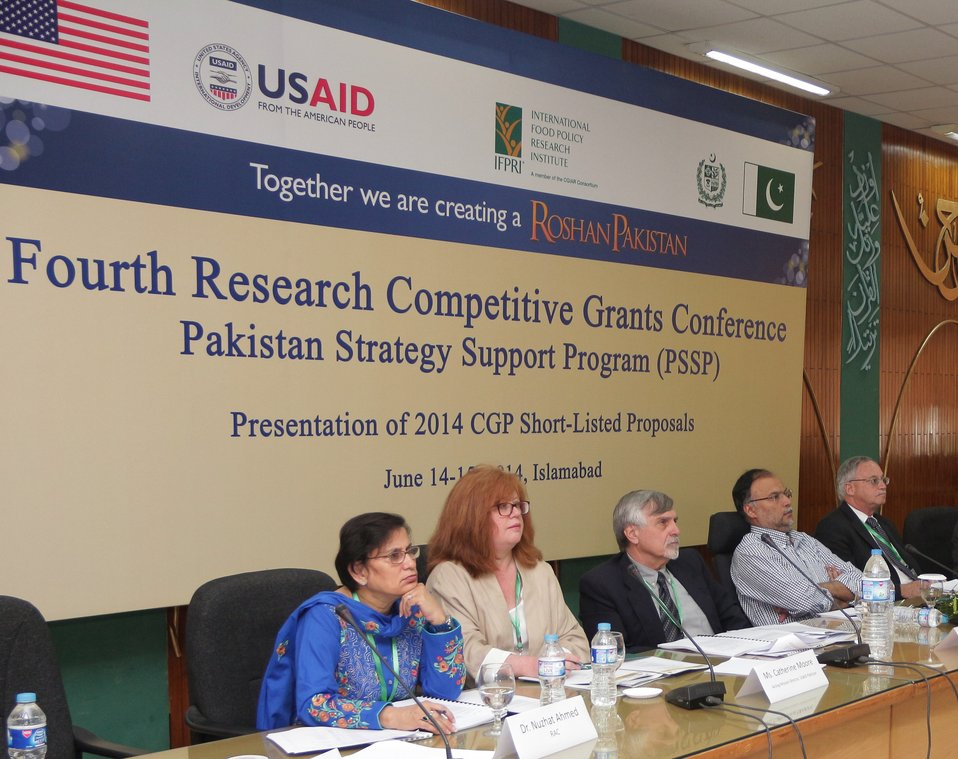 PSSP - CGP-IV Research Conference, June 14, 2014