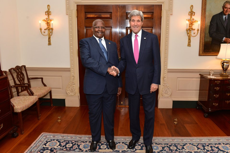 Secretary Kerry Meets With Ugandan Foreign Minister Kutesa