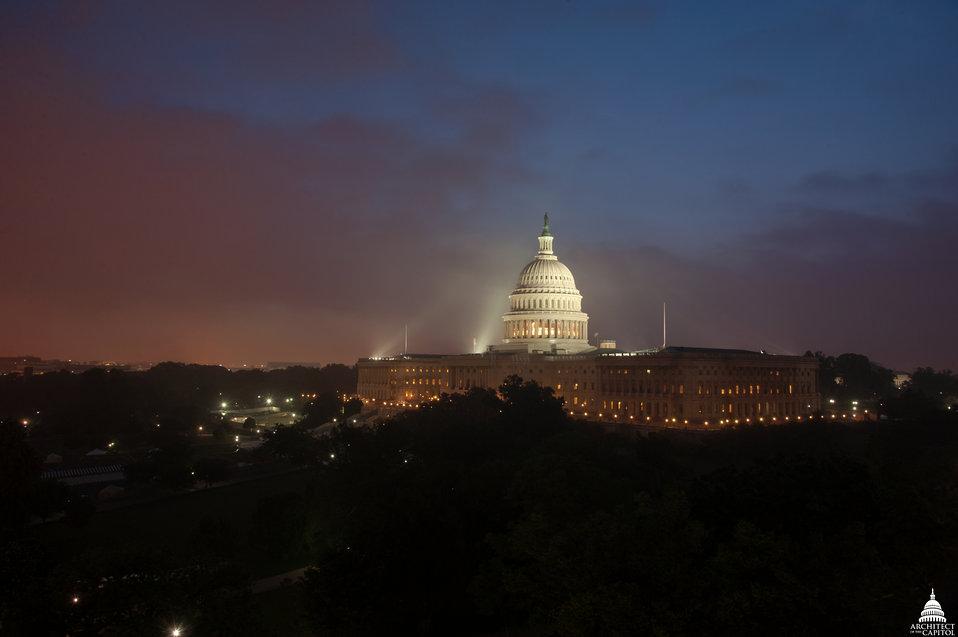 Capitol at Dawn May 15, 2014