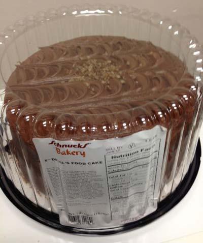 RECALLED – Cake