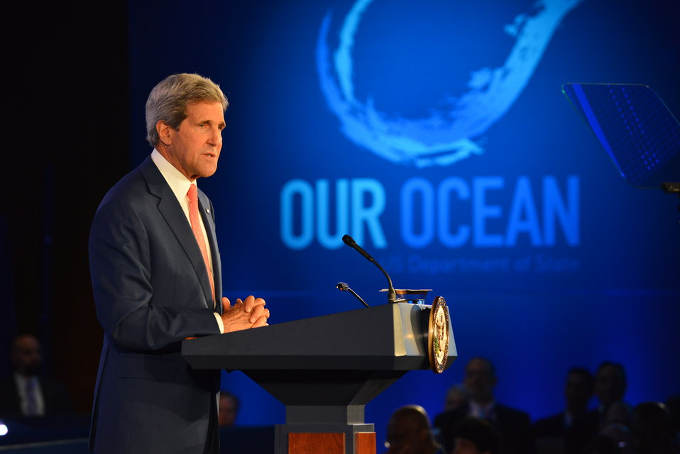 Secretary Kerry Delivers Remarks at the Opening Session of the 'Our Ocean' Conference