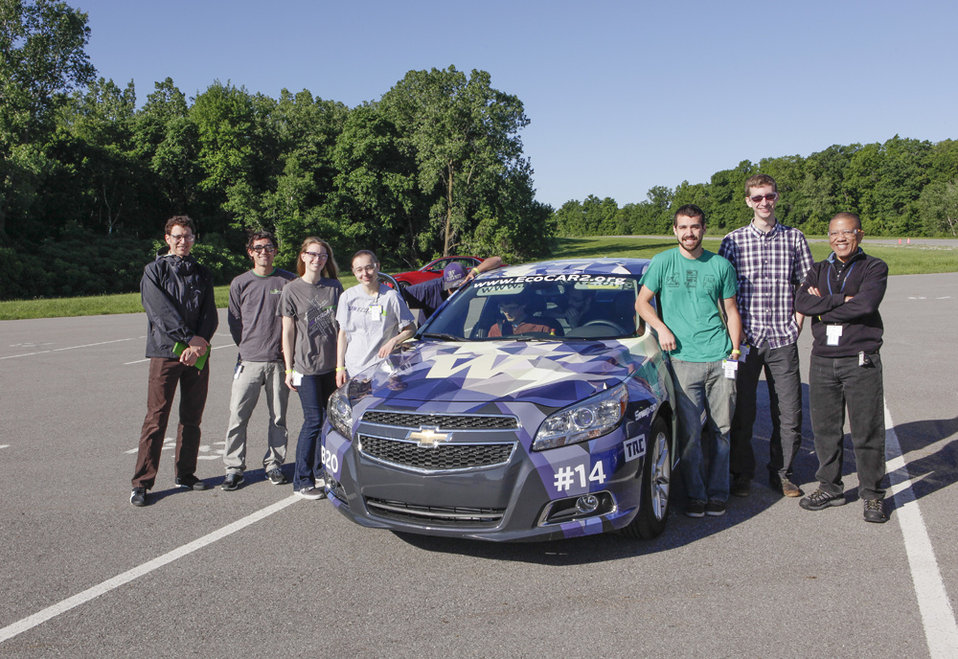 After three years of intense competition, team from the University of Washington came in second in EcoCAR 2. The team demonstrated the most