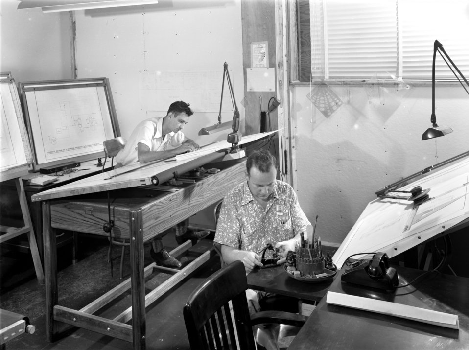 Carbide Training School Drafting Department 1951 Kentucky