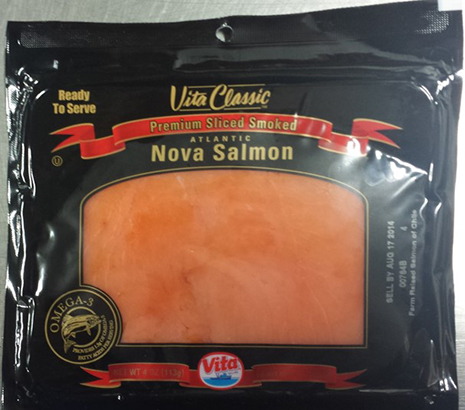 RECALLED – Premium Sliced Smoked Atlantic Salmon