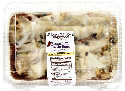 RECALLED – Cinnamon Raisin Buns