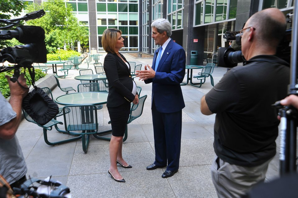 Secretary Kerry Conducts Interview at State Department With 'Today's' Guthrie