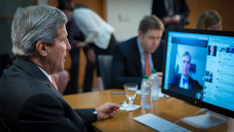 Secretary Kerry Participates in a Twitter QandA with Bill Nye
