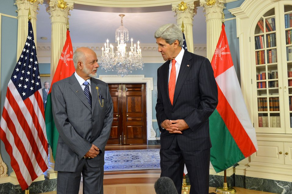 Secretary Kerry and Omani Foreign Minister Yusuf bin Alawi bin Abdullah Address Reporters