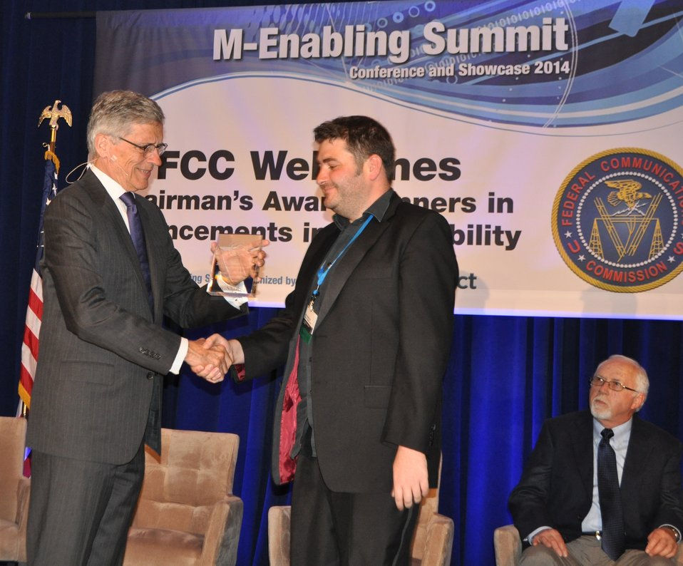 6.9.2014 Third Annual Chairman's Awards for Advancement in Accessibility