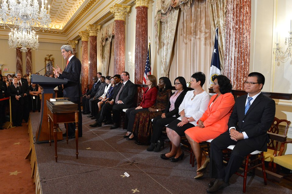 Secretary Kerry Releases the 2014 Trafficking in Persons Report and Honors the 2014 TIP Report Heroes