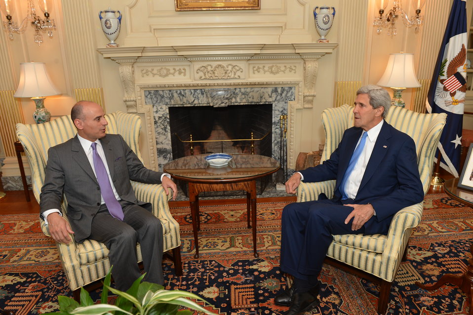 Secretary Kerry Meets With Saudi Ambassador to the U.S. Adel Al-Jubeir