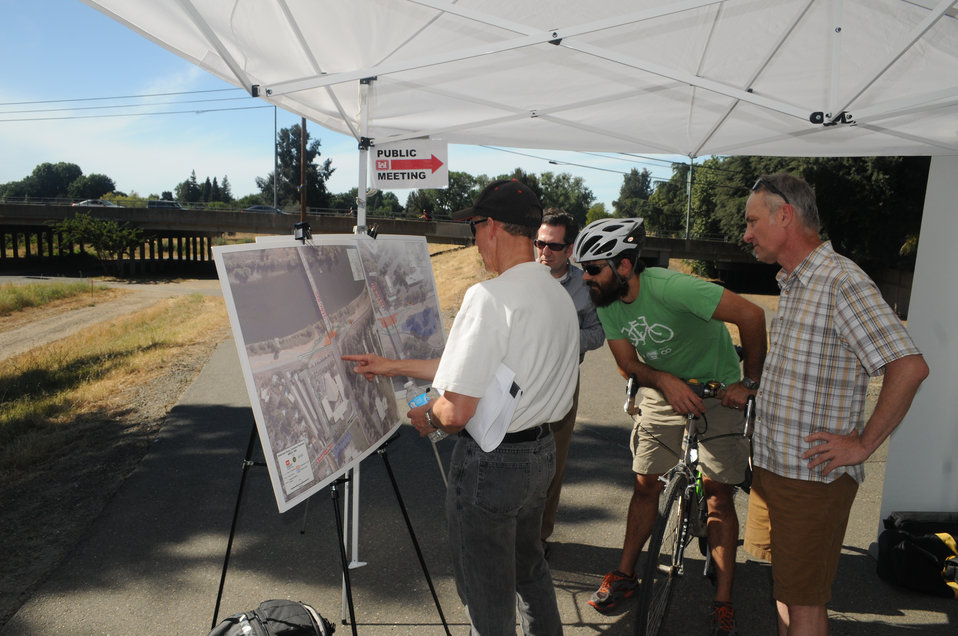 Levee work topic of public outreach