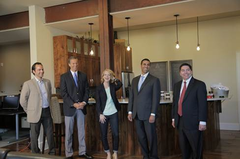 5.29.2014 Commissioners O'Rielly and Pai join Senator John Thune to visit Internet-enabled businesses in South Dakota