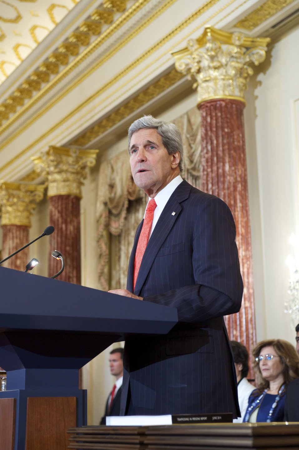 Secretary Kerry Releases the 2014 Trafficking in Persons Report